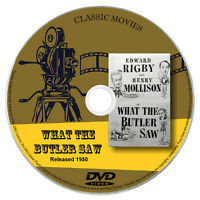 What the Butler Saw (1950) - Edward Rigby, Henry Mollison - Comedy DVD