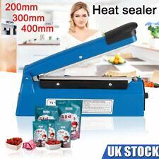 More details for impulse heat sealer manual heating sealing machine for plastic bags pe pp bag uk