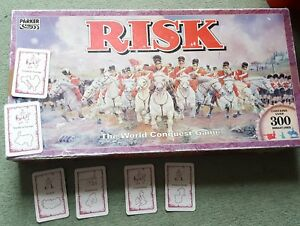 SELECTION OF REPLACEMENT SPARES FOR 1992 RISK BOARD GAME Europe CARDS - choose