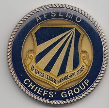Air Force Senior Leader's Management Office Chief's Group challenge coin - 122