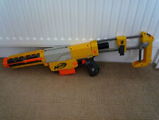 NERF GUN RECON CS- 6 WITH LONG BARREL / EXTENDED STOCK & CARTRIDGE