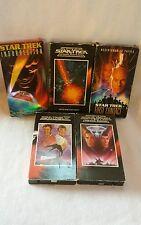 Lot of 5 Star Trek Vhs Tapes