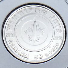 2012 Canada 50 Cent Winnipeg Jets Brilliant Uncirculated Commemorative Coin G774