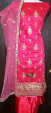 3 Peice Salwar Kameez open fabric suit set Bollywood Indian Pakistani dress