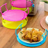 Multifunction Microwave Oven Shelf Double Insulated Heatings Tray Bowls-Holder