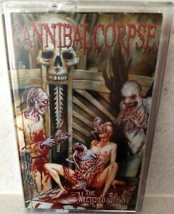 CANNIBAL CORPSE - THE WRETCHED SPAWN TAPE CASSETTE FLOGA REC 2019 LIM. 600 NEW