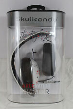 New Skullcandy Aviator Mic'd Headphones Roc Nation White Ting Tings Artwork