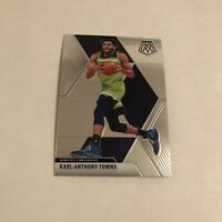 Karl Anthony Towns 2019-20 Panini Mosaic #83 Base Card Minnesota Timberwolves