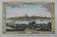 Wien - Seltene Stadtansicht von G.A. Baldwyn - Originaler Kupferstich 1794