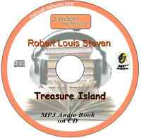 Treasure Island  - Robert Louis Steven MP3 Audio Book 34 episodes/chapters on CD