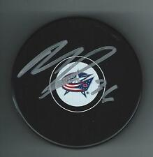 MICHAEL PALIOTTA SIGNED COLUMBUS BLUE JACKETS PUCK