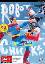 Robot Chicken - DC Comics Special II (DVD, 2015) brand new sealed - adult comedy