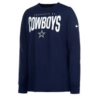 New Dallas Cowboys NFL Football Nike Dri-Fit Property of Shirt Long Sleeve Men's