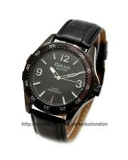 Omax Gents/Unisex Black Dial Watch, Black Finish, Seiko (Japan) Movt. RRP £79.99