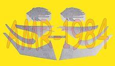 Série Adhésifs Décalcomanies Aprilia Sr 50 2004 Rouge Fluo AP8277332