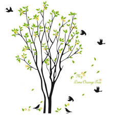 Large Tree Birds Leaves  Wall Decal Stickers For Living Room Bedroom Home Decor