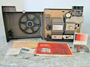 Bell & Howell Auto 8/Super 8 Cassette & Regular Reel Projector 478Z