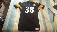 JON WITMAN #38 PITTSBURGH STEELERS AUTOGRAPHED AUTHENTIC NIKE FOOTBALL JERSEY 48
