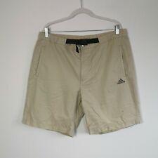 "Vintage Adidas Cargo Shorts In Beige | Carge Chino Shorts | Size 36"" Waist"