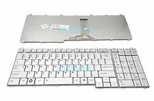 NEW Toshiba Satellite P200 P200D P205 P205D X200 X205 series Keyboard US Silver