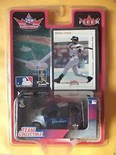 Derek Jeter White Rose FLEER 2001 PT Cruiser & Card NEW YORK YANKEES NEW FREE SH