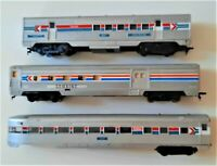 ATHEARN HO SCALE PASSENGER CARS~ A COMBINE, RPO CAR, & OBSERVATION CAR