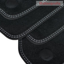 Velour Fußmatten für Mercedes C Klasse W204 Limousine ab Bj.2007 - 2014 DN