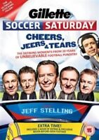Gillette Soccer Saturday - Cheers, Jeers & Tears Region 2 DVD New and Sealed