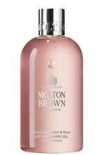 MOLTON BROWN DELICIOUS RHUBARB AND ROSE - BATH AND SHOWER GEL - 300ML BRAND NEW