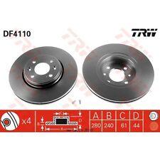 Bremsscheibe, 1 Stück TRW DF4110