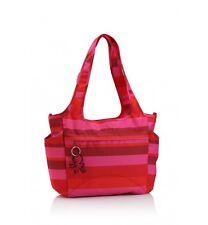 okiedog Striped Pink Saha Nappy / Diaper Bag