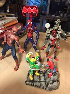 Spider-Man Action Figures & Bonus Collectible Spider-Man Items Marvel Legends