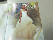 Alfred Angelo Wedding Dress Disney Tiana #204 Size 14 - Diamond White