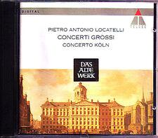 LOCATELLI 1695-1764 5 Concerto Grosso CONCERTO KÖLN CD Il pianto d'Arianna