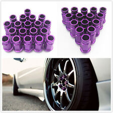 20 Pcs Purple Aluminum Wheel Rim Tuner Lug Nut Kit Set M12 x 1.25MM For Infiniti