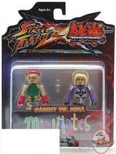 Street Fighter X Tekken Minimates Cammy vs Nina 2 Pack Figures  Diamond Select