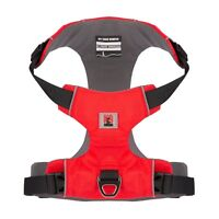 No Pull Front Clip Dog Harness Padded Reflective XS S M L Red Free Dog Collar