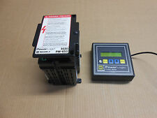 1 USED SQUARE D POWERLOGIC PMD-32 POWER METER w/ PM-650