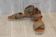 Bernie Mev. Honesty Sandals - Women's Size 11 - Dark Bronze