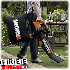 Electric Blower Mulcher Vacuum Metal Mulching System Leaf Yard Lawn Vac
