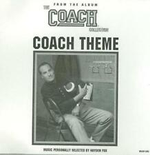 Coach Theme PROMO Music CD Collection TV television show MCA5P-3060 w/ Artwork