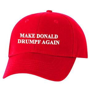 Make Donald Drumpf Again Hat Embroidered Resist John Oliver