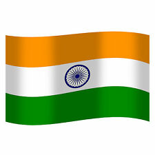 India Indian National Cricket Supporters Large Tricolour Diwali Flag  3 x 5 ft
