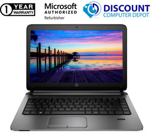 "HP ProBook 430 G1 13.3"" Core i5 Laptop 8GB 128GB SSD Windows 10 Pro Webcam WIFI"