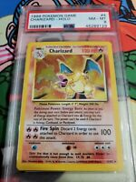 PSA 8 CHARIZARD 1999 Pokemon Base Set - 4/102 - PSA 8