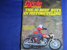 CYCLE MAGAZINE-FEB 1974-SUZUKI T500K-10 BEST-BAJA 1000--VINTAGE