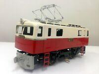 Katsumi EB10 electric locomotive (R/C) - Tin rare model made in Japan