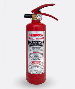 MOPAR Extinguisher L-178 sticker silver