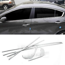 Chrome Window Accent Molding Garnish Trim B242 6P For KIA 13-17 Cerato Forte K3