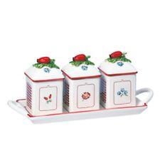 Villeroy & Boch Petite Fleur Charm Petite Fleur Charm Marmeladendosen-Set 3tlg.
